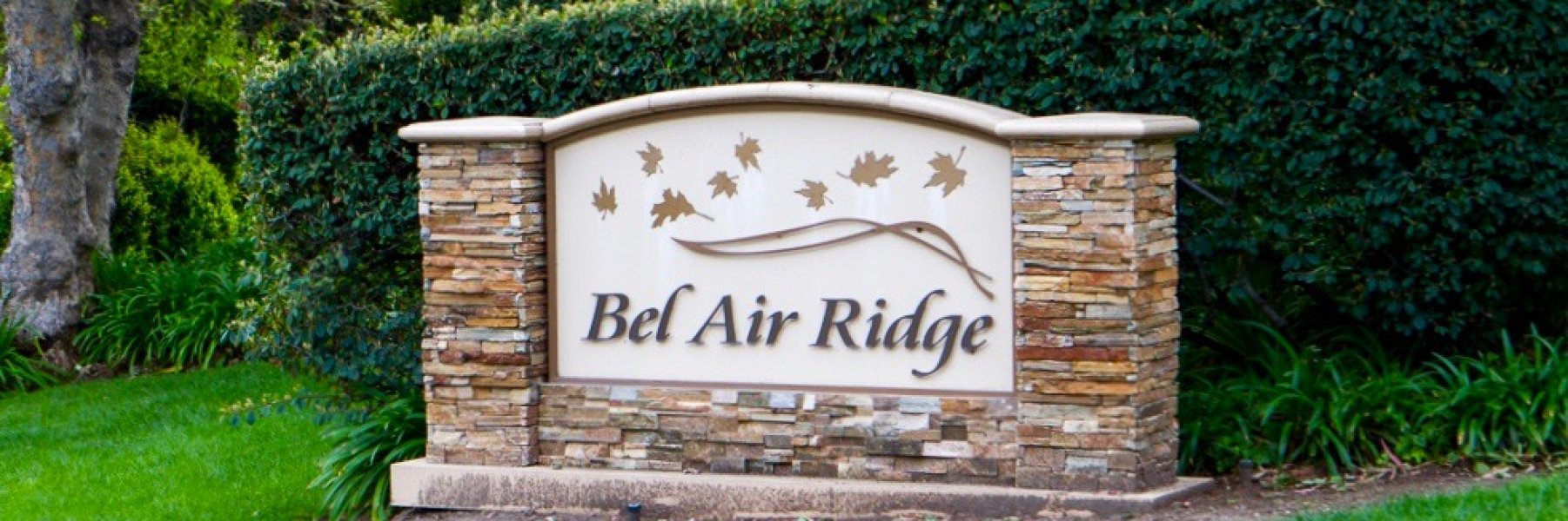 Bel Air Ridge is a community of homes in Los Angeles California