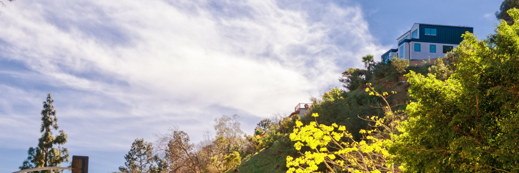Laurel Canyon is a community of homes in Los Angeles California
