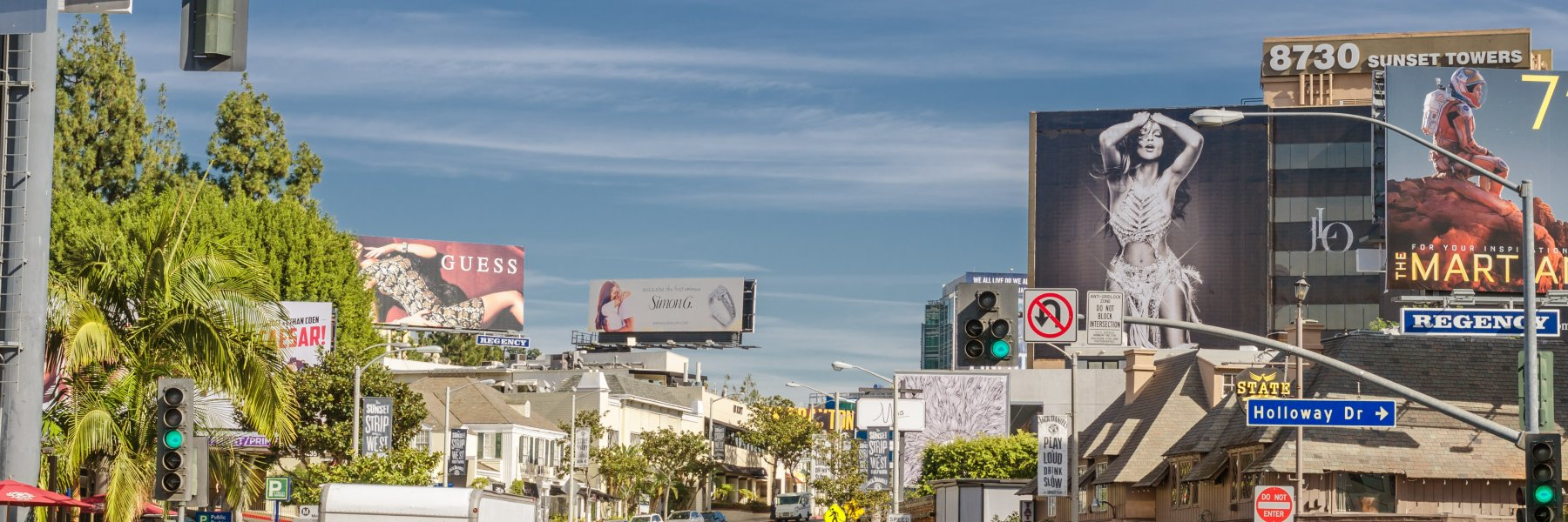 West Hollywood is an eclectic neighborhood in Los Angeles CA