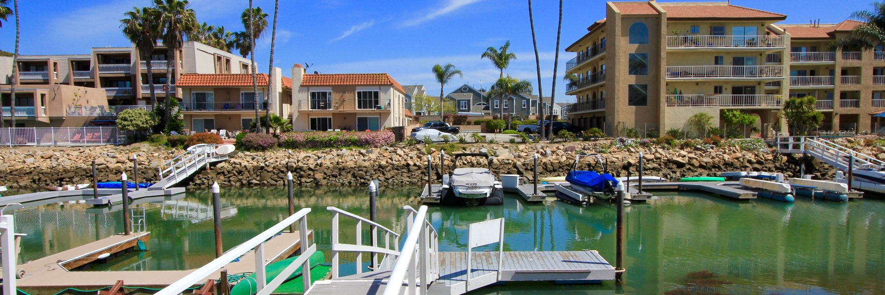 Bristol Cove is a community of homes in Carlsbad California