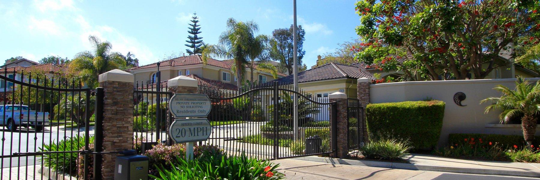 Isla Mar is a community of homes in Carlsbad California