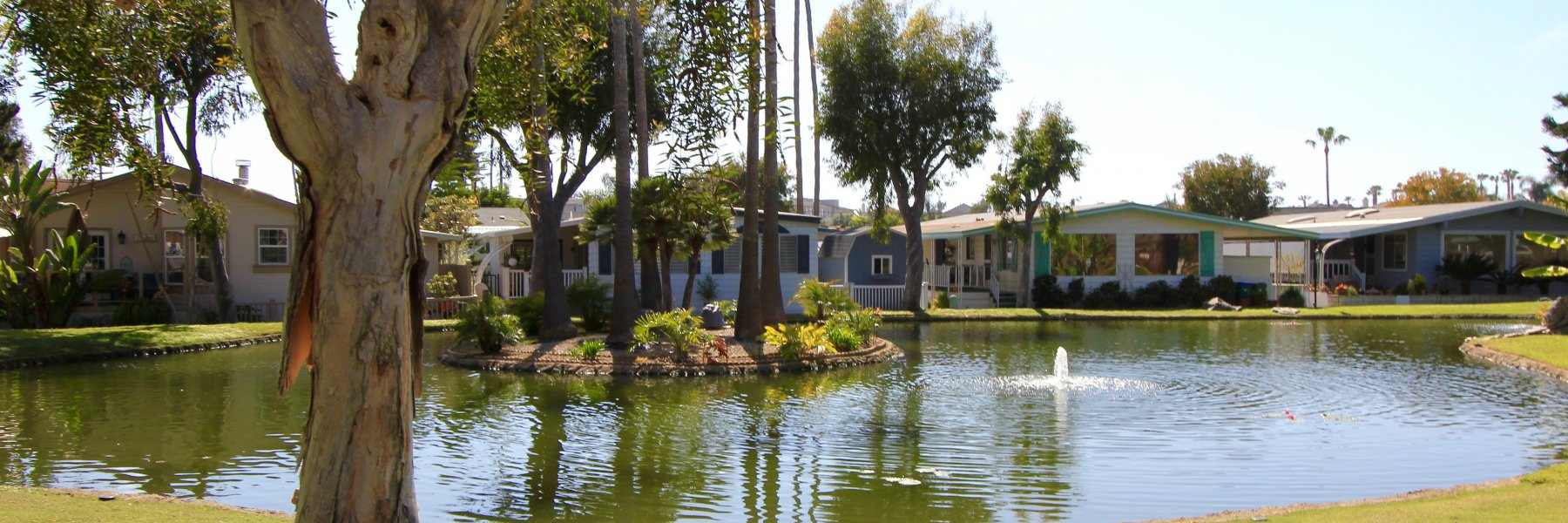 Lakeshore Gardens is a community of homes in Carlsbad California