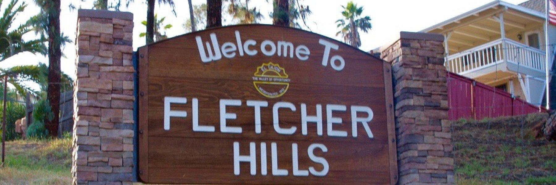 Fletcher Hills Neighborhood in El Cajon