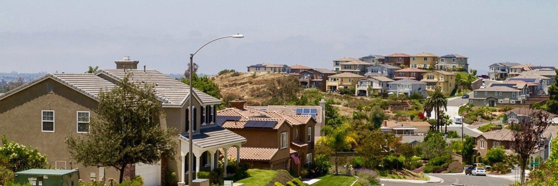 Serramar is a community of homes in La Mesa California