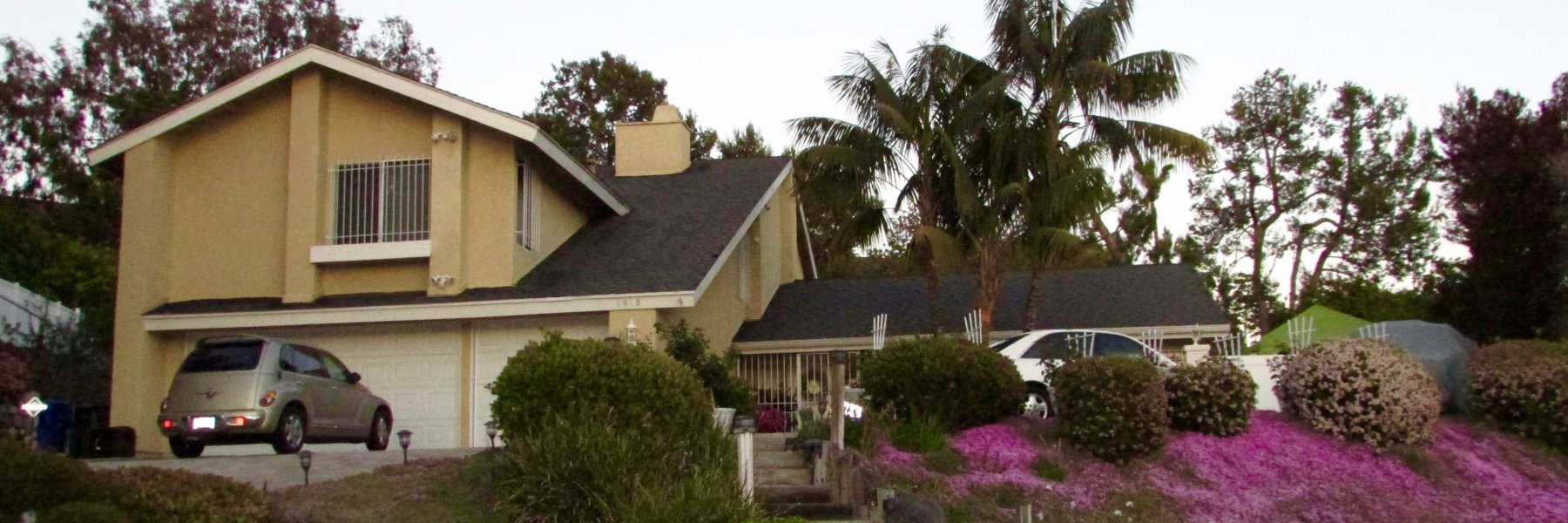Henie Hills is a community of homes in Oceanside California