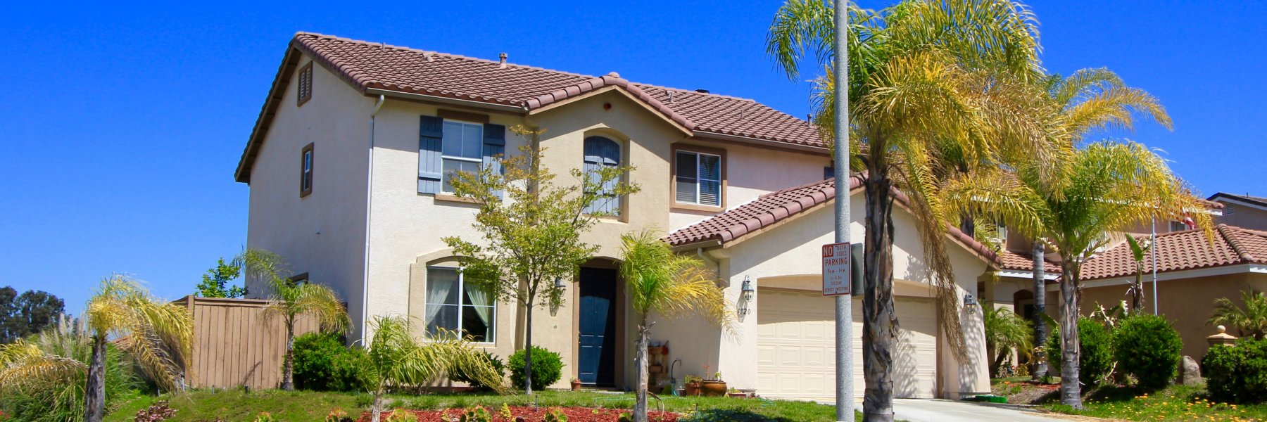 Mission Santa Fe is a community of homes in Oceanside California