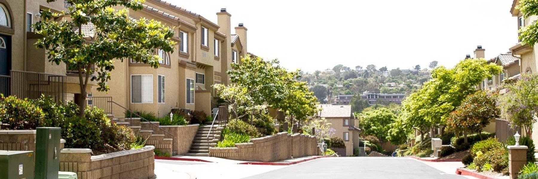 Crest at Del Mar is a community of attached homes in San Diego California