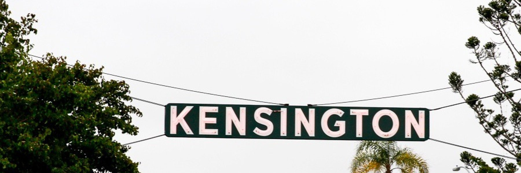 Kensington is a community of homes in San Diego California
