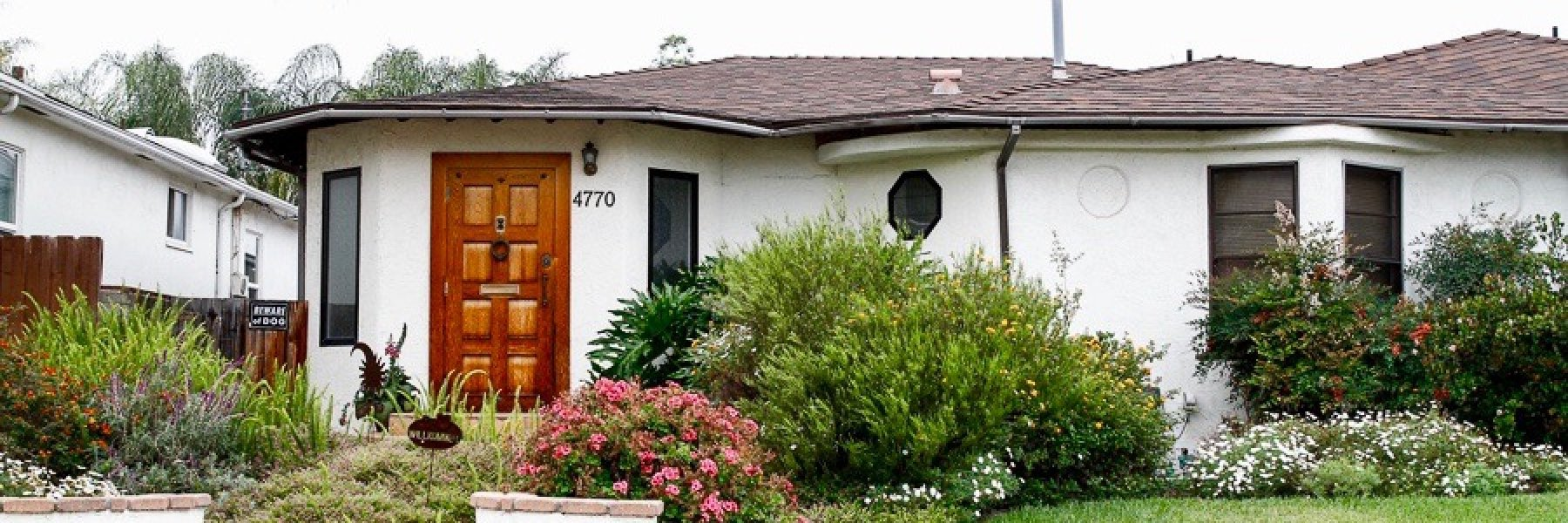 Talmadge is a community of homes in San Diego California