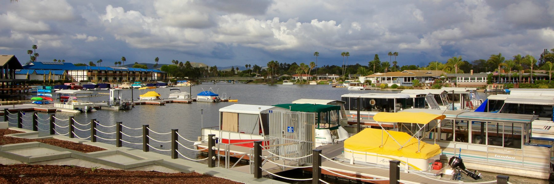 Lake San Marcos is a community of homes in San Marcos California