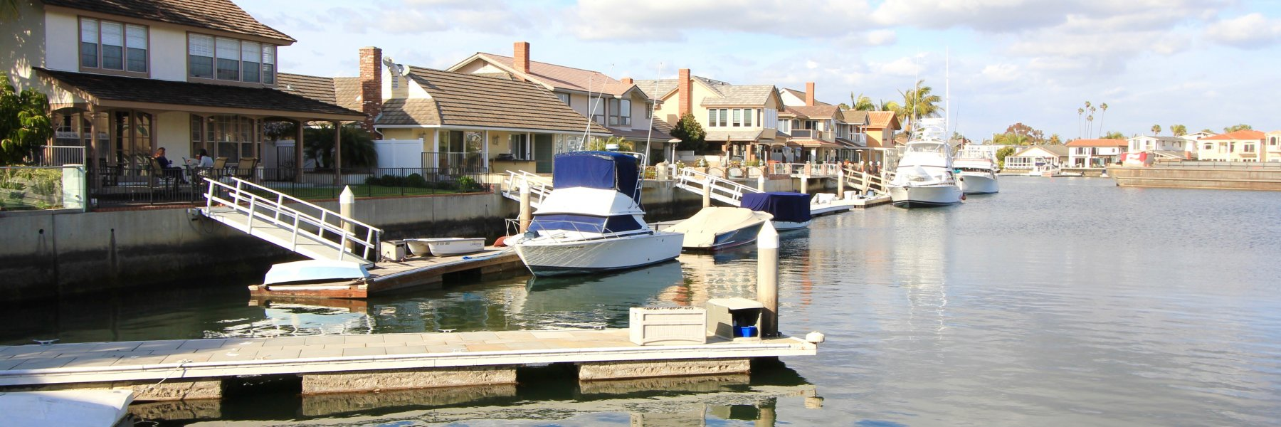 Admiralty Island is a community of homes in Huntington Beach California