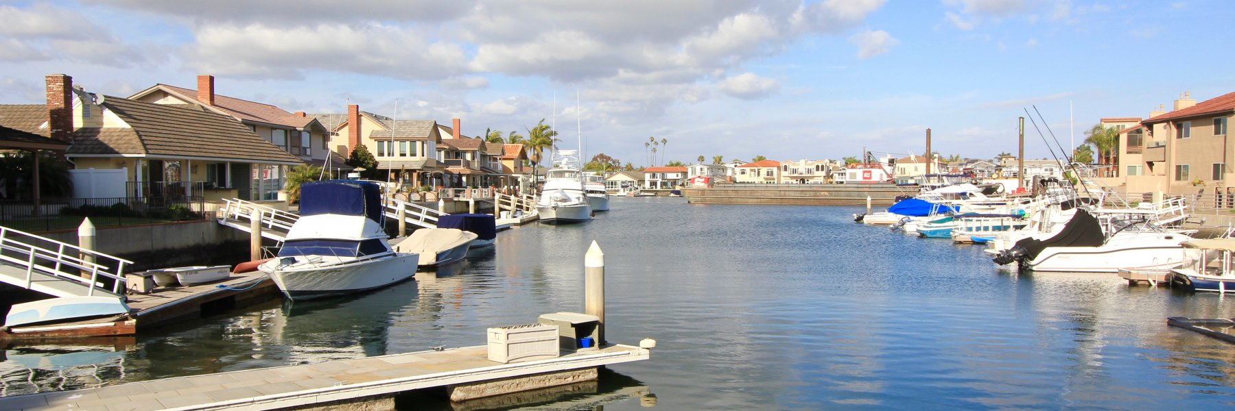 Coral Cay is a community of homes in Huntington Beach California