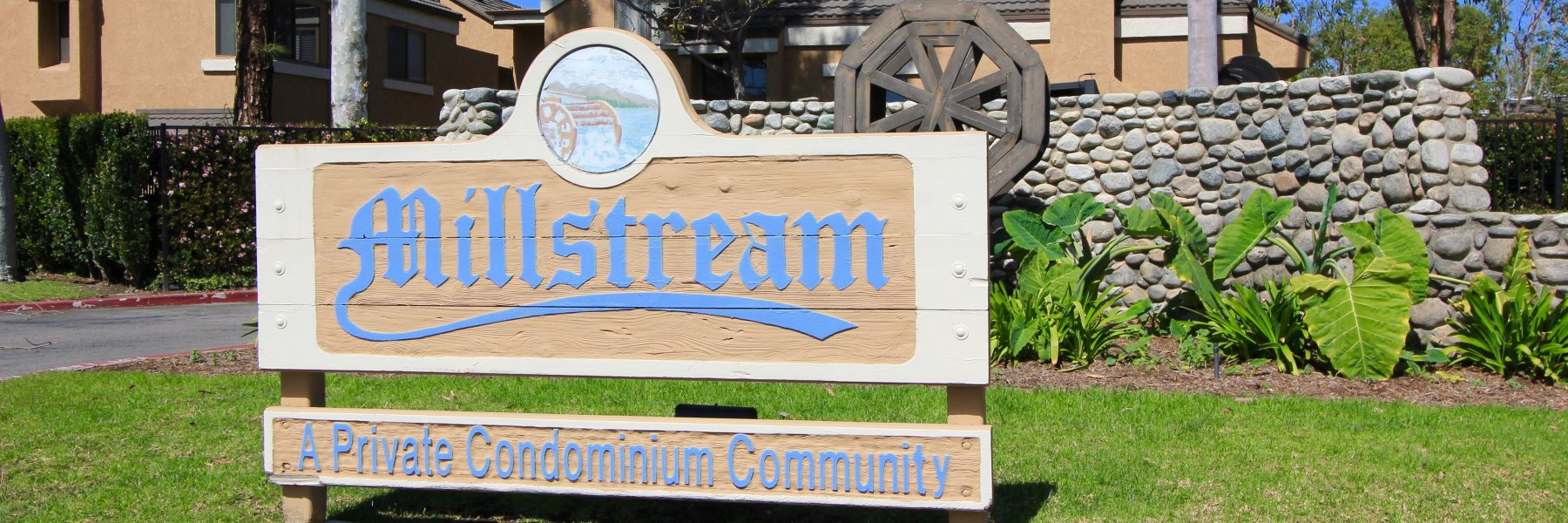 Millstream is a community of homes in Huntington Beach California