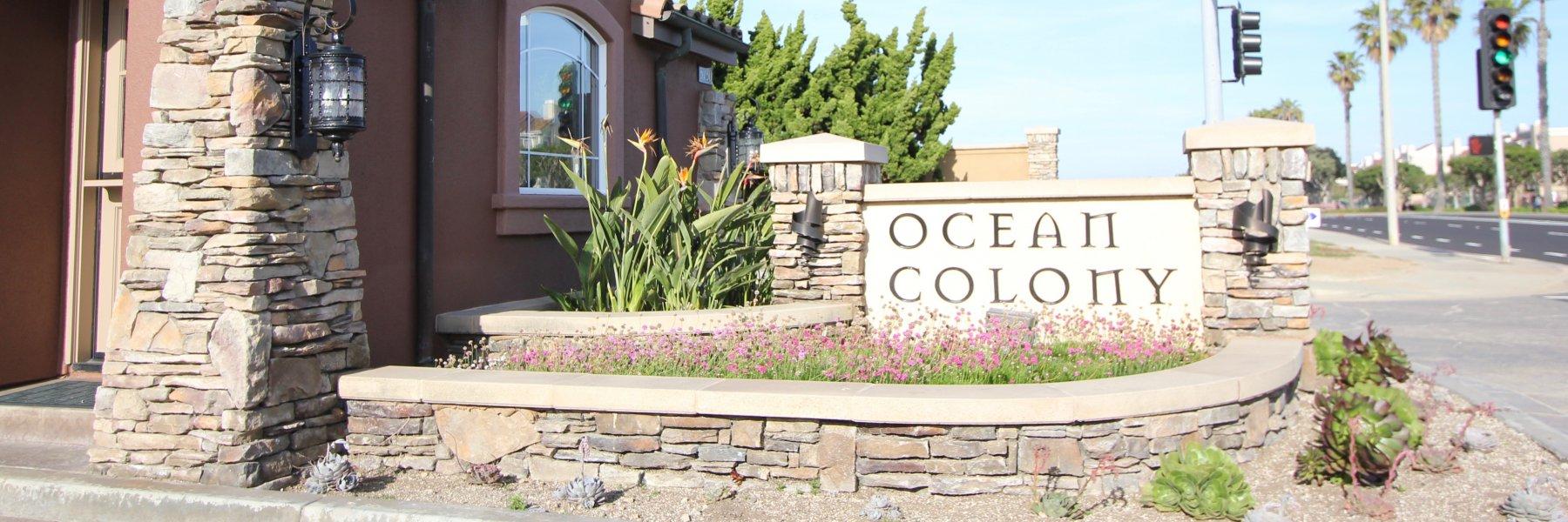Ocean Colony is a community of homes in Huntington Beach California