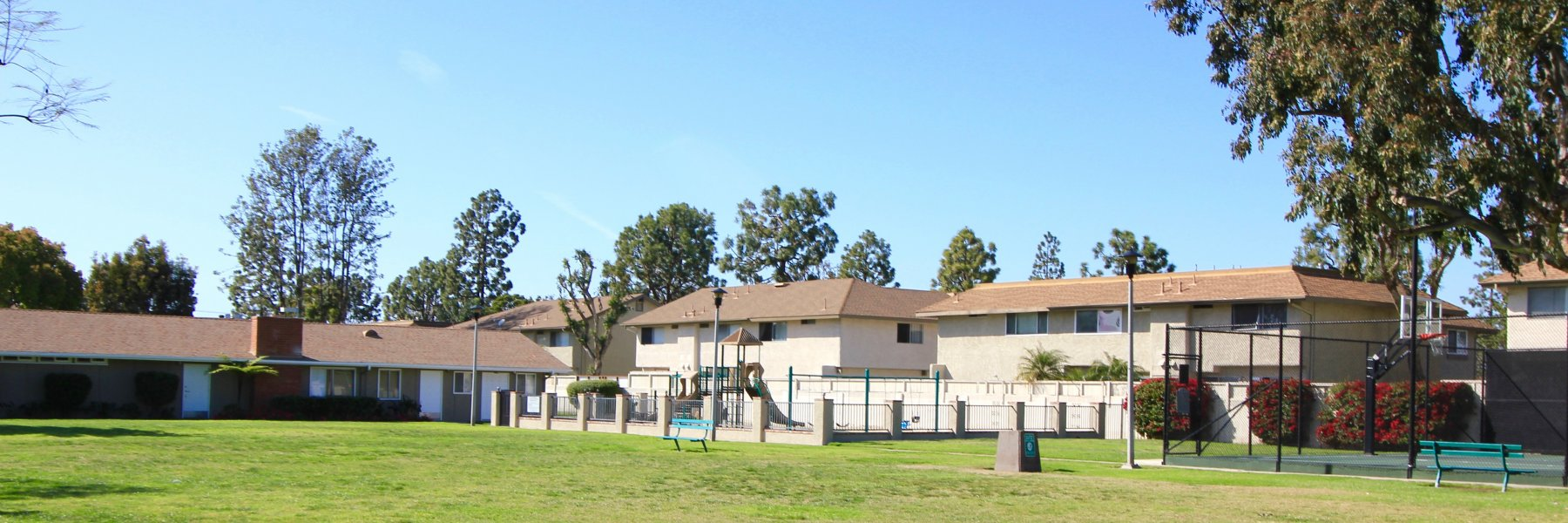 Village Townhomes is a community of attached homes in Huntington Beach California