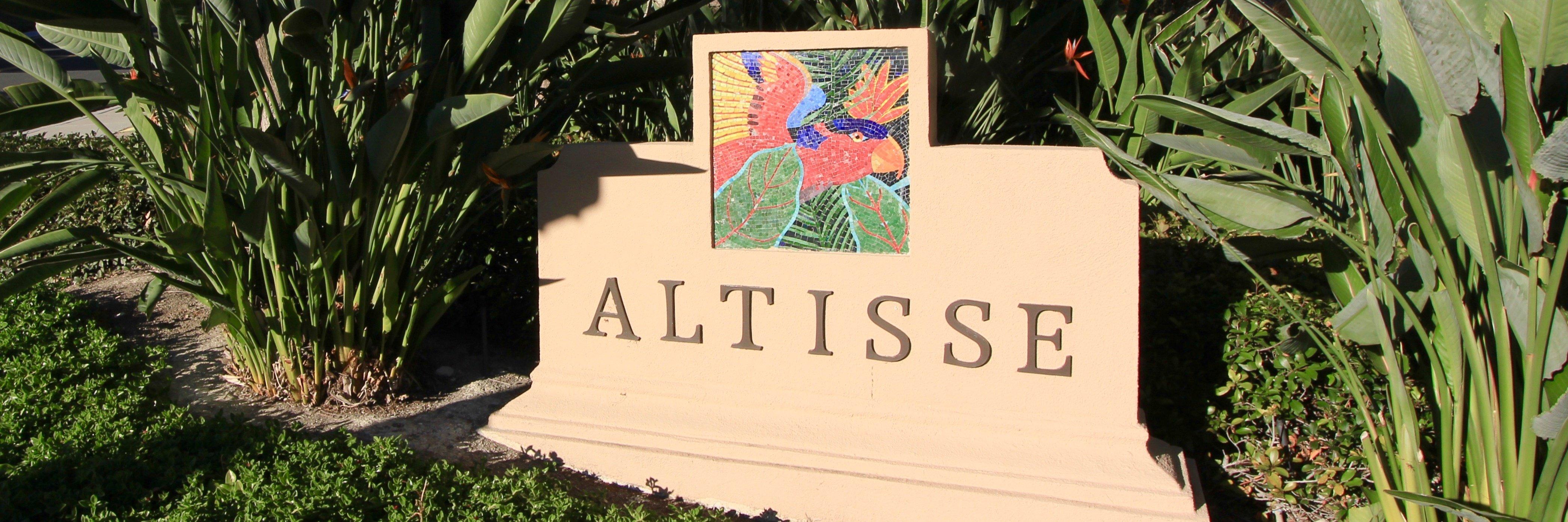 Altisse Community Marquee in Aliso Viejo Ca