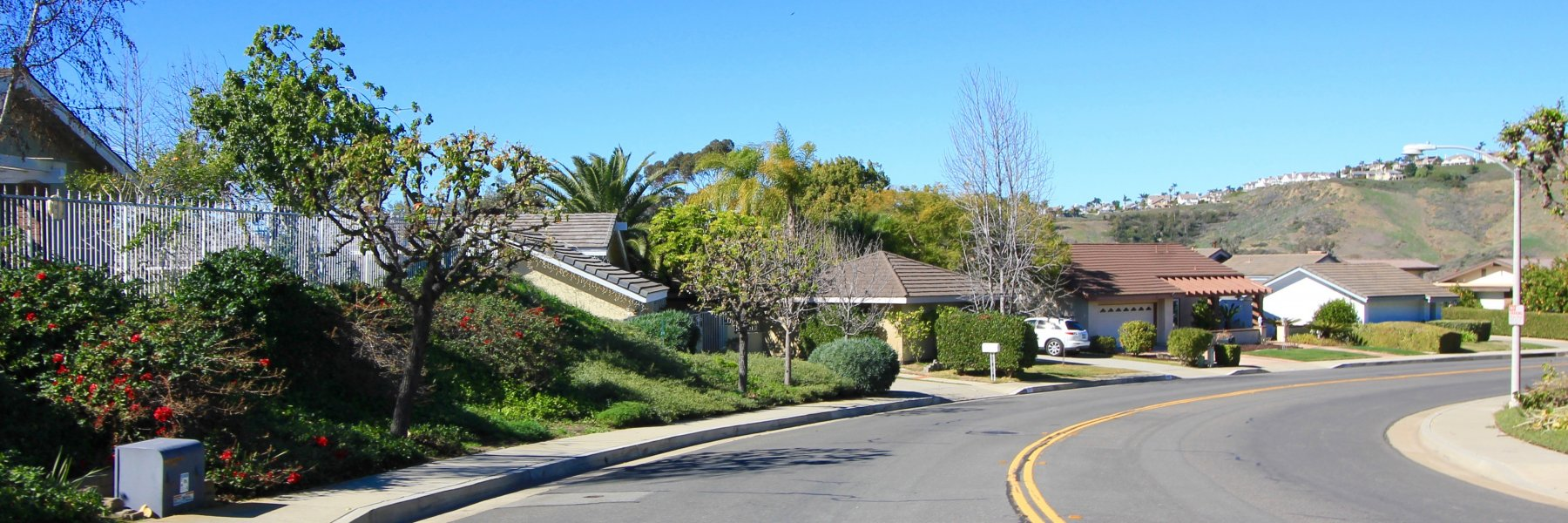 Broadmoor is a neighborhood of homes in San Clemente Ca