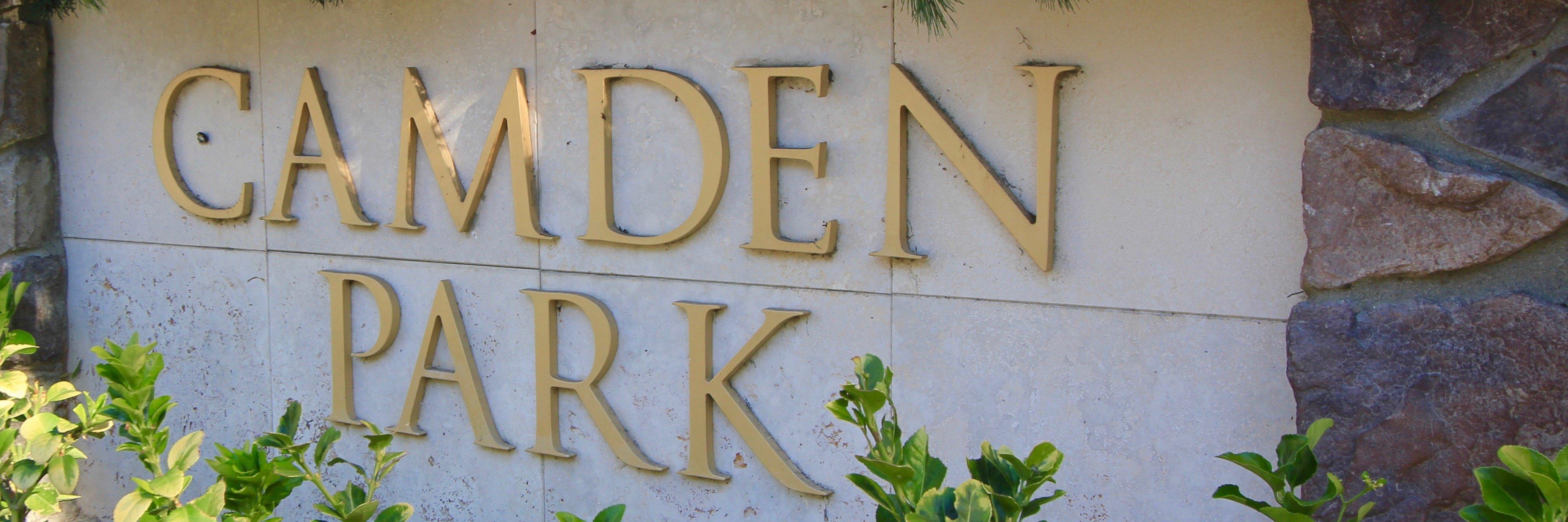 Camden Park Community Marquee in Aliso Viejo