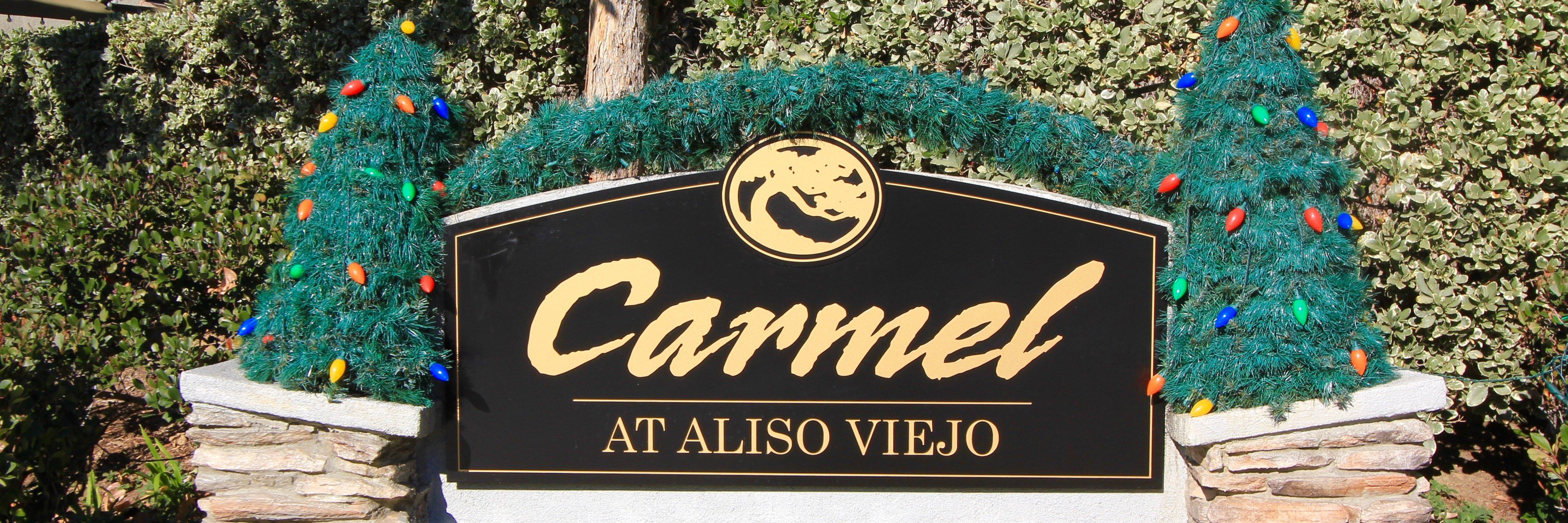 Carmel Community Marquee in Aliso Viejo Ca