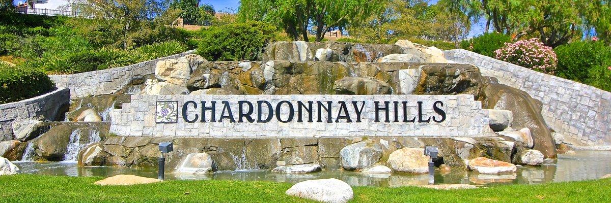 Chardonnay Hills Community Marquee in Temecula Ca
