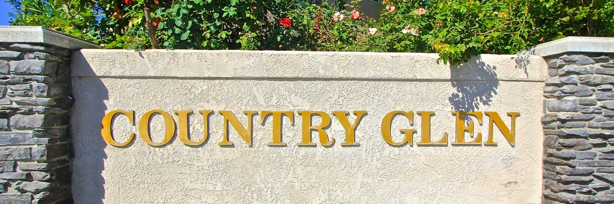 Country Glen Community Marquee in Temecula Ca