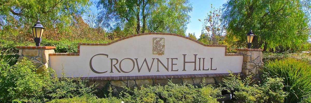 Crowne Hill Community Marquee in Temecula Ca