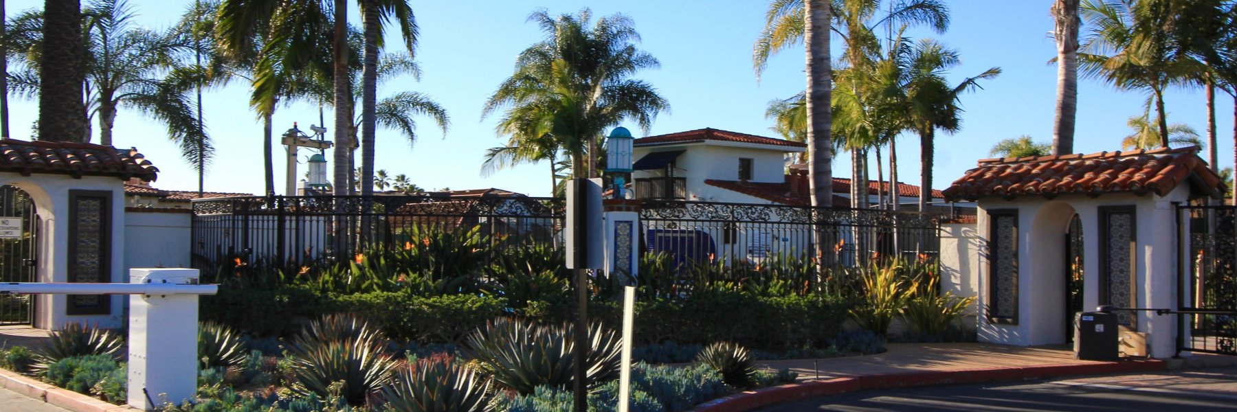 Cyprus Shore is a gated community in San Clemente