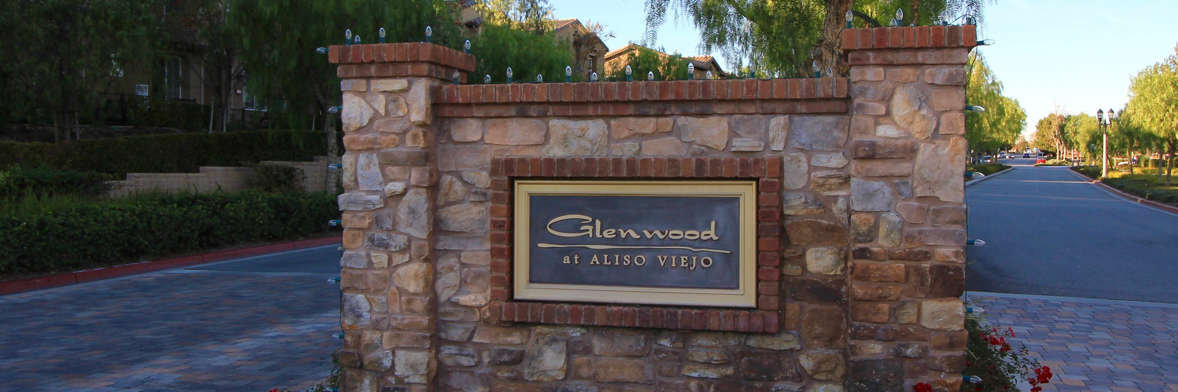 Glenwood Community Marquee in Aliso Viejo Ca