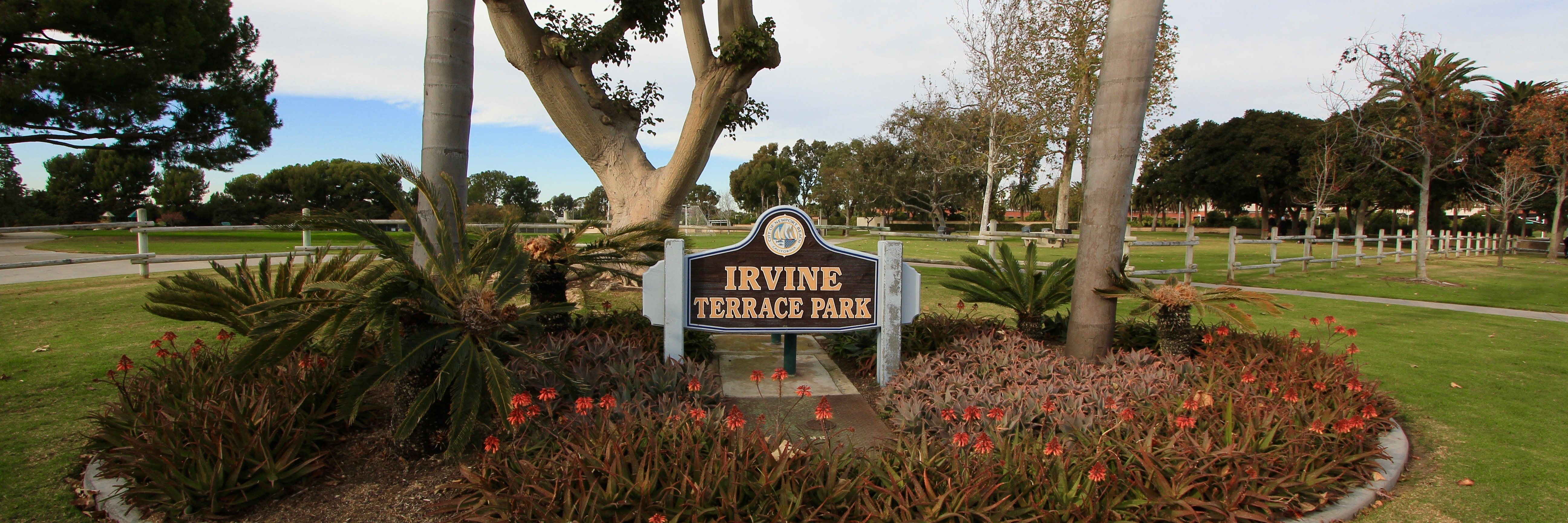 Irvine terrace is a gated home community in Corona Del Mar CA