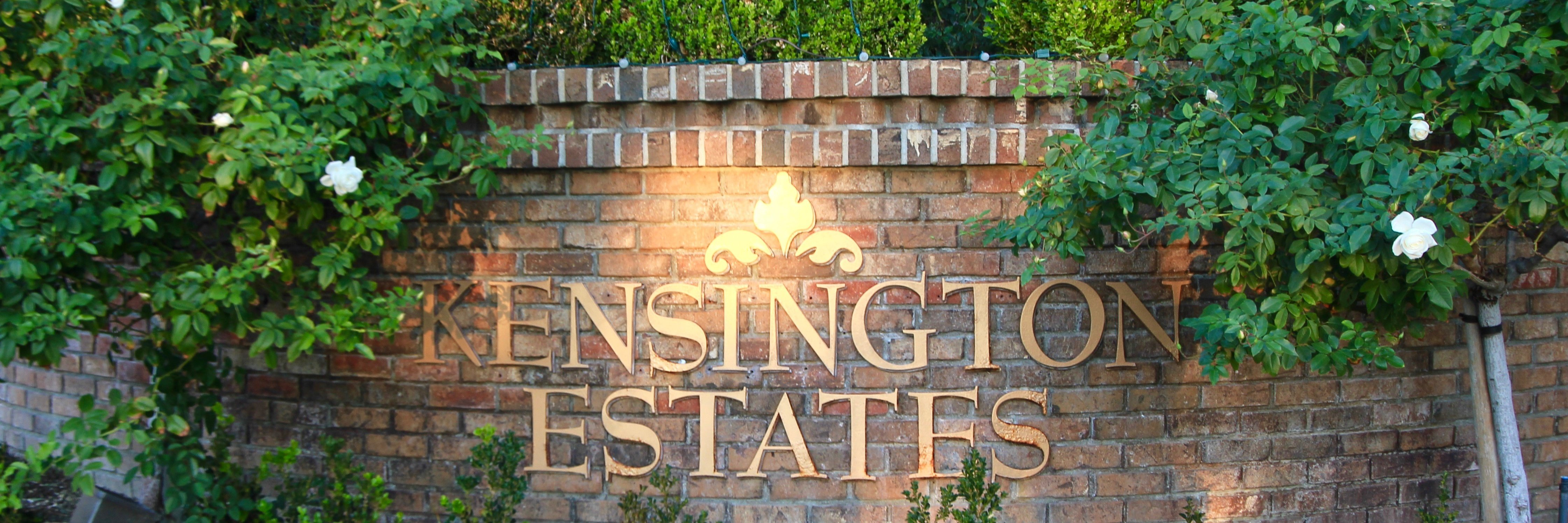 Kensington Estates Community Marquee in Aliso Viejo Ca