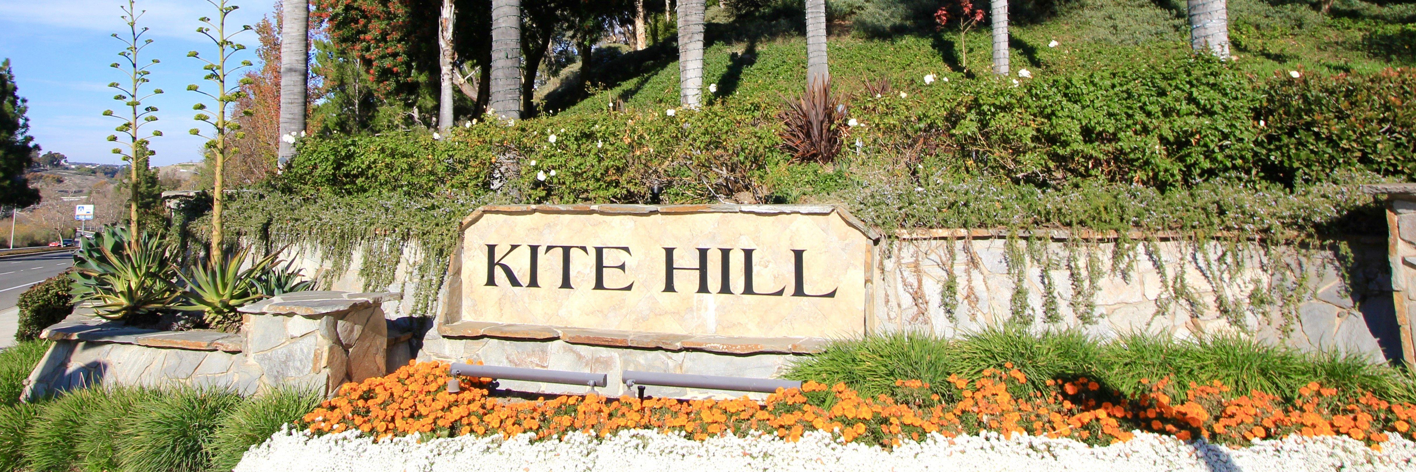 Kite Hill is a neighborhood of homes located in Laguna Niguel California