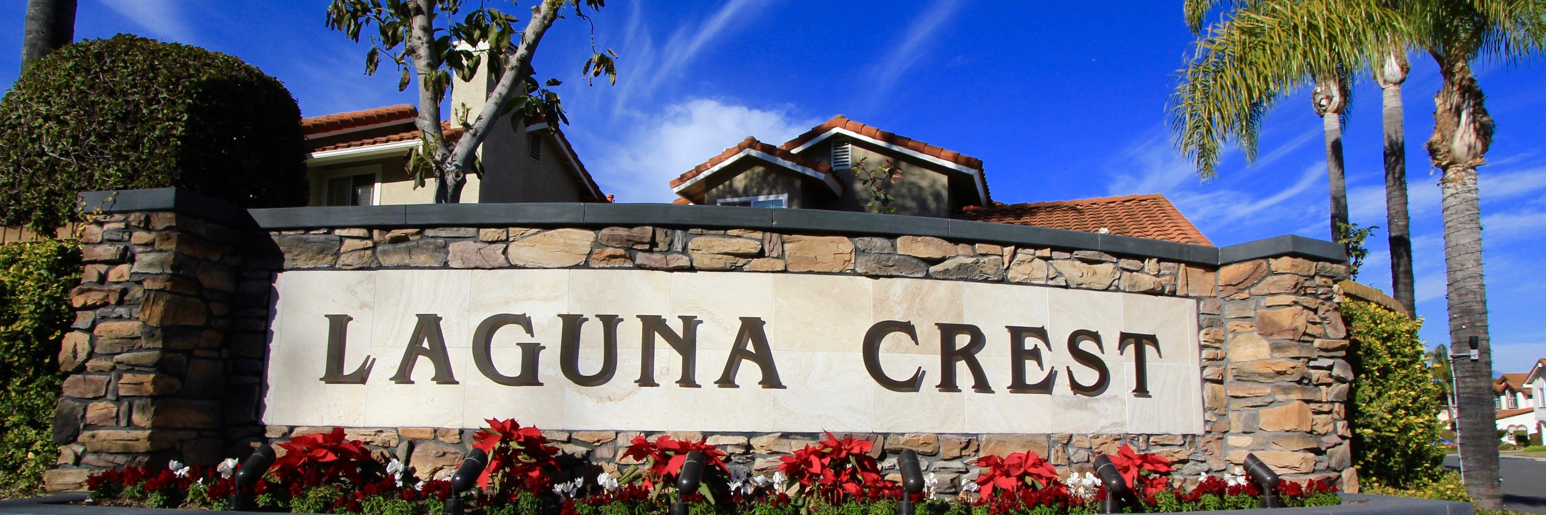 Laguna Crest is a neighborhood of homes located in Laguna Niguel California