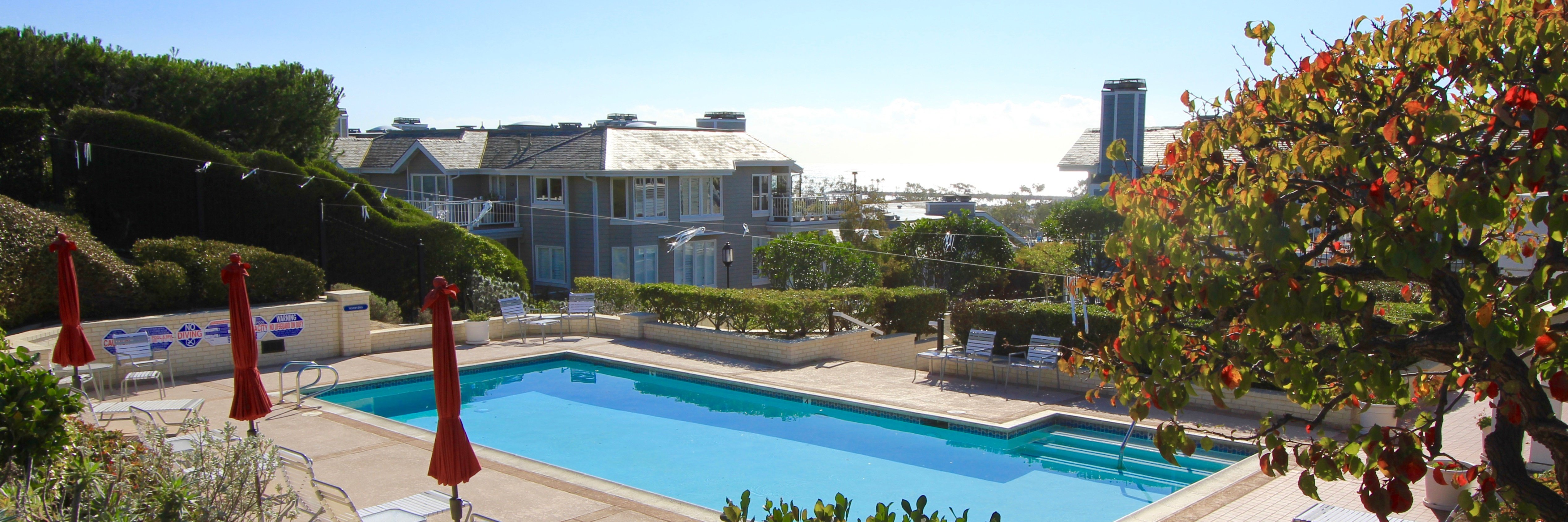 Lantern Bay Villas is a gated community located in Dana Point Ca
