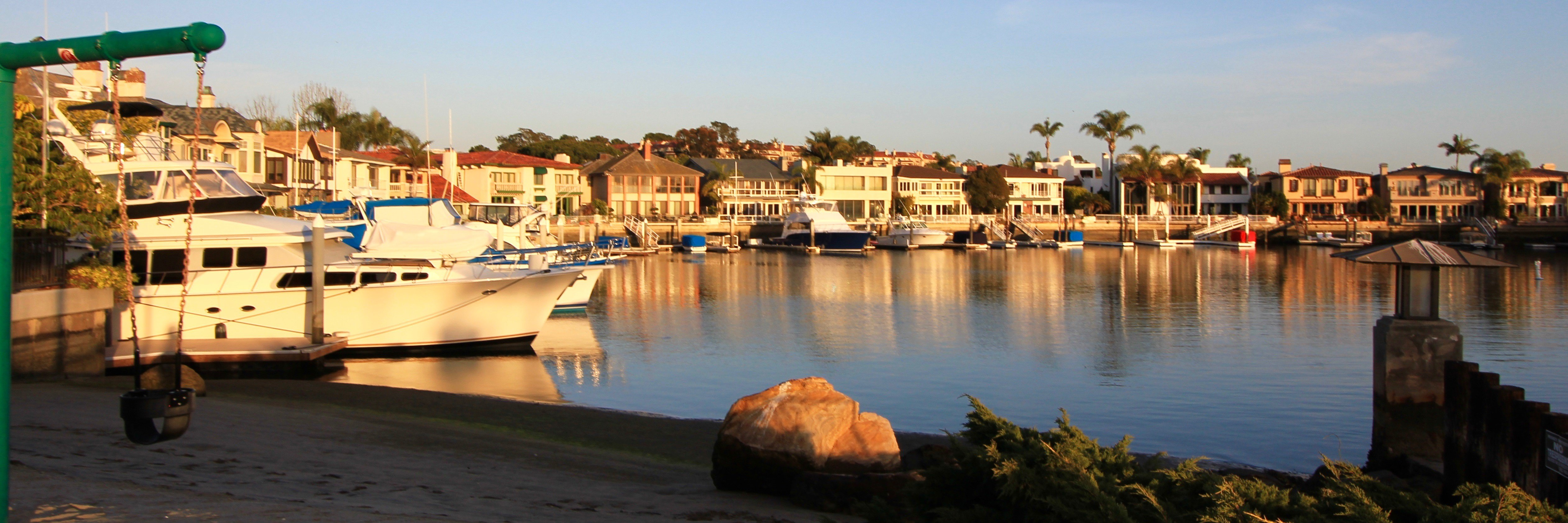 Linda Isle is a housing community located in Newport Beach, CA
