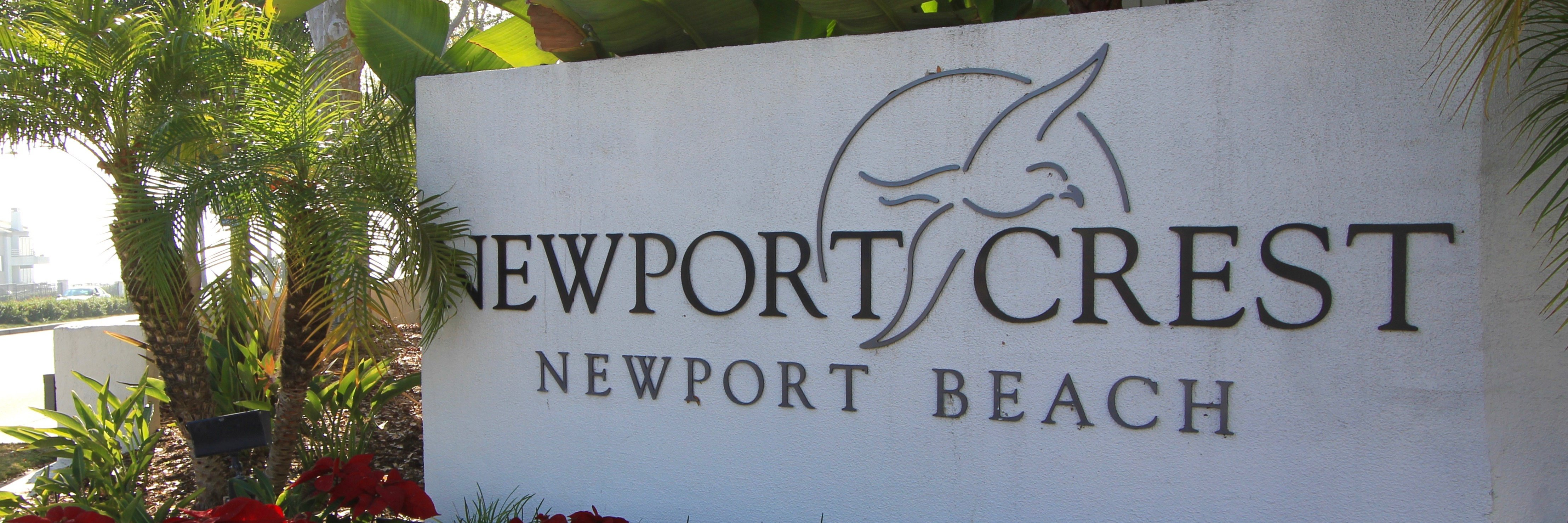 Newport Crest is a housing community in Newport Beach, CA