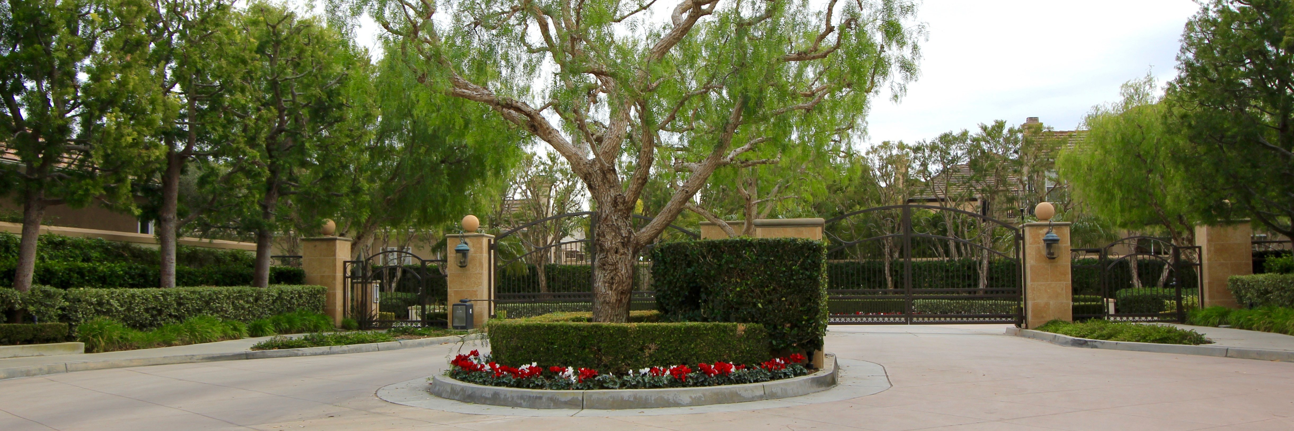 Newport Ridge Estates is a gated custom home tract in Newport Coast CA