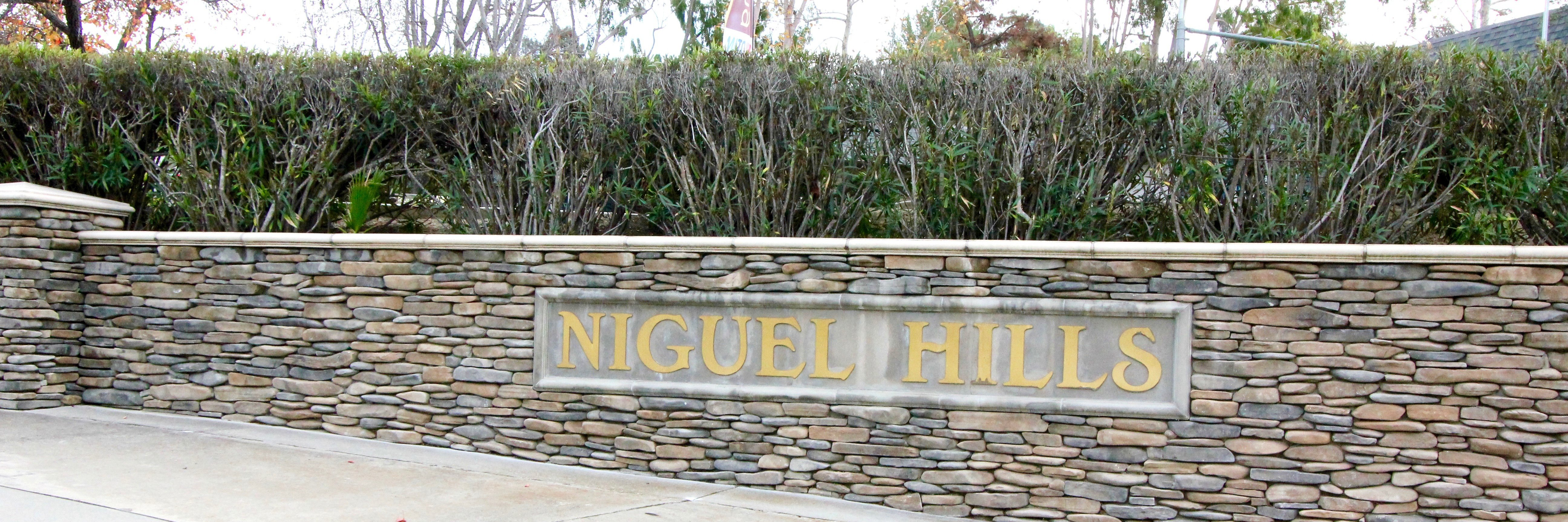 Niguel Hills is a neighborhood of homes located in Laguna Niguel California