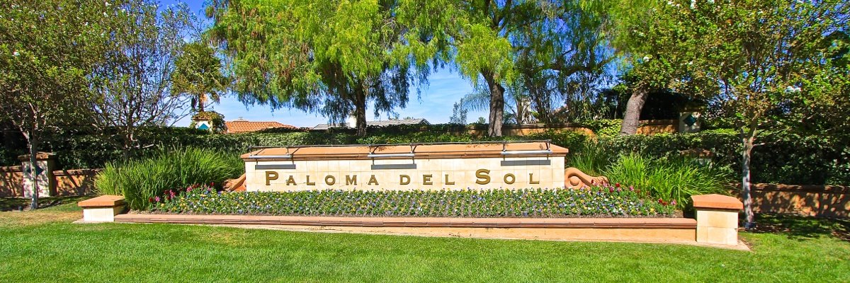 Paloma Del Sol Community Marquee in Temecula Ca