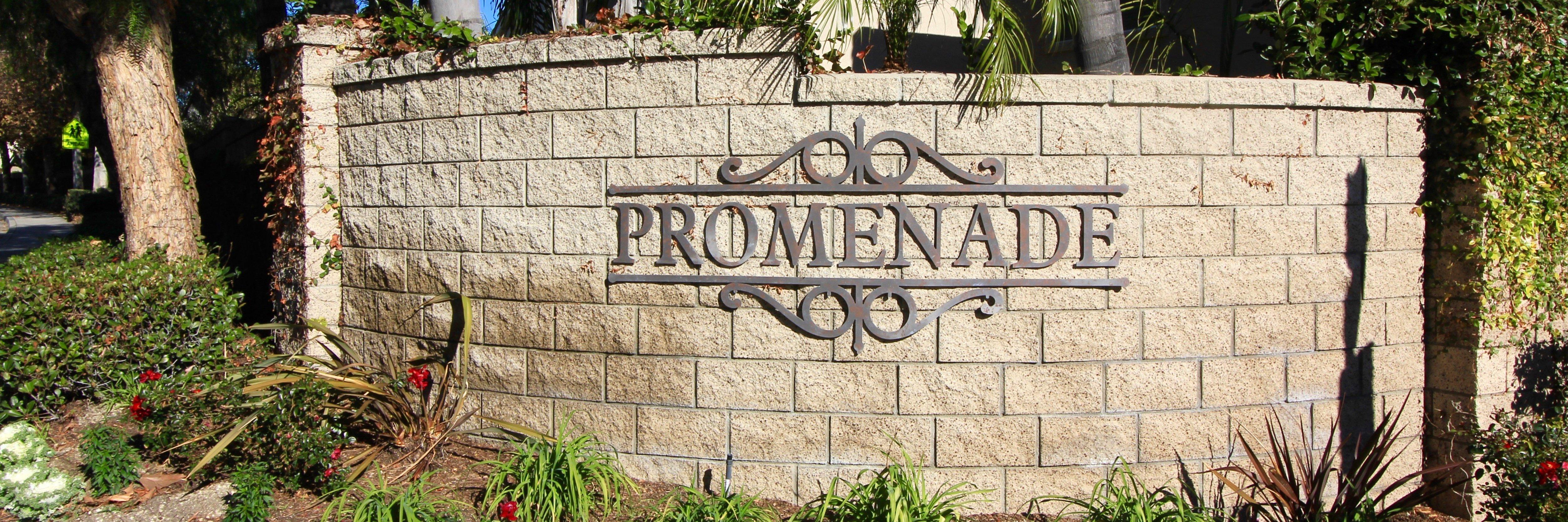 Promenade Community Marquee in Aliso Viejo Ca