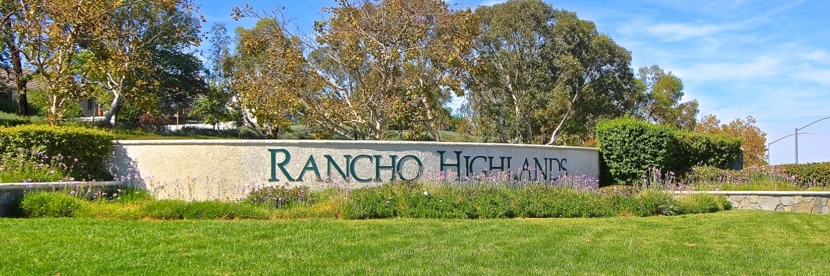 Rancho Highlands Community Marquee in Temecula Ca