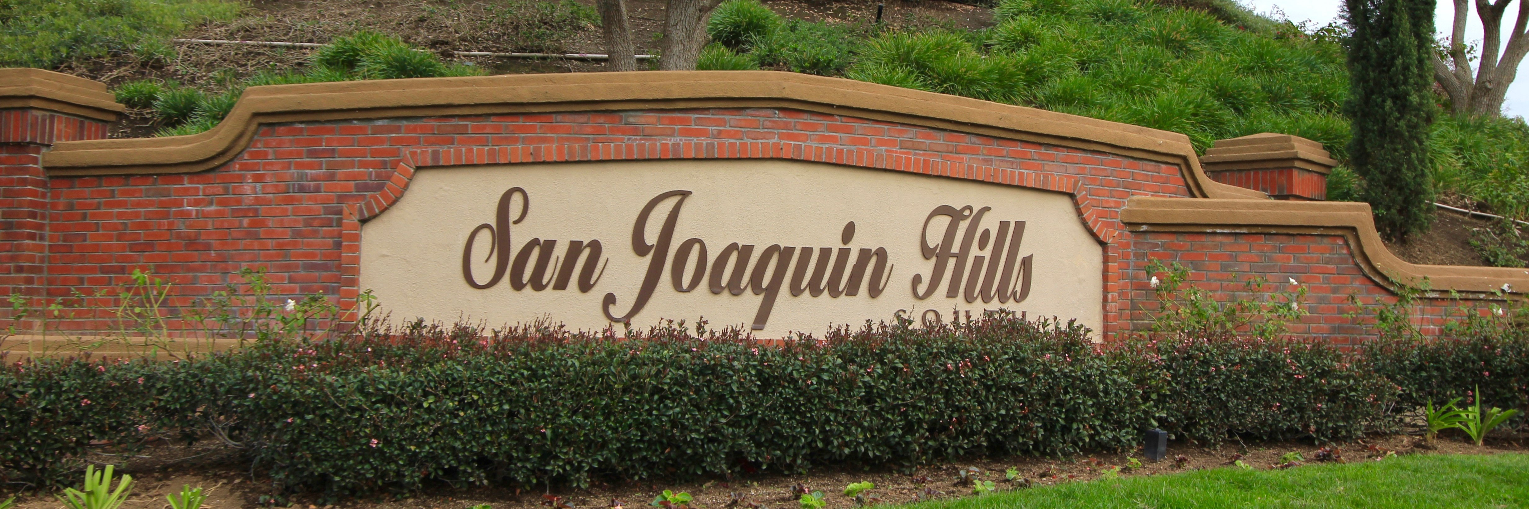 San Joaquin Hills is a neighborhood of homes located in Laguna Niguel California