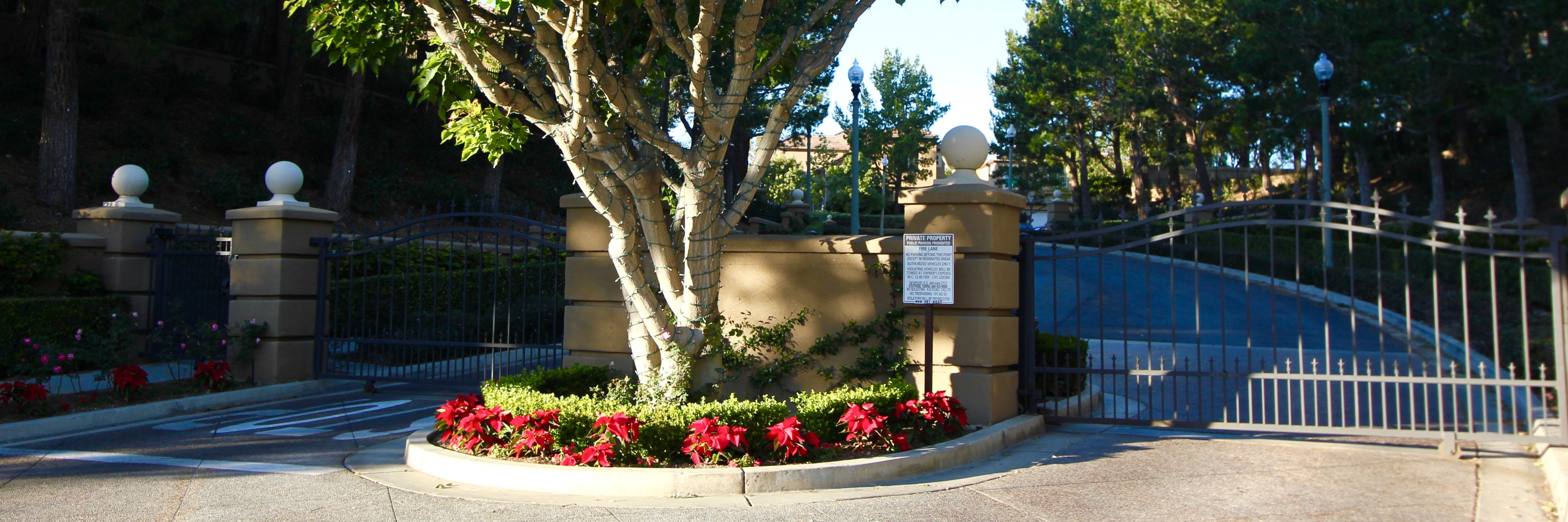 Sancerre is a gated home community in Newport Coast CA