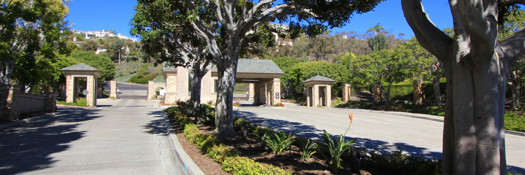 Sea Pointe Estates is a gated community of homes in San Clemente