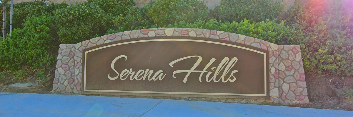 Serena Hills Community Marquee in Temecula Ca