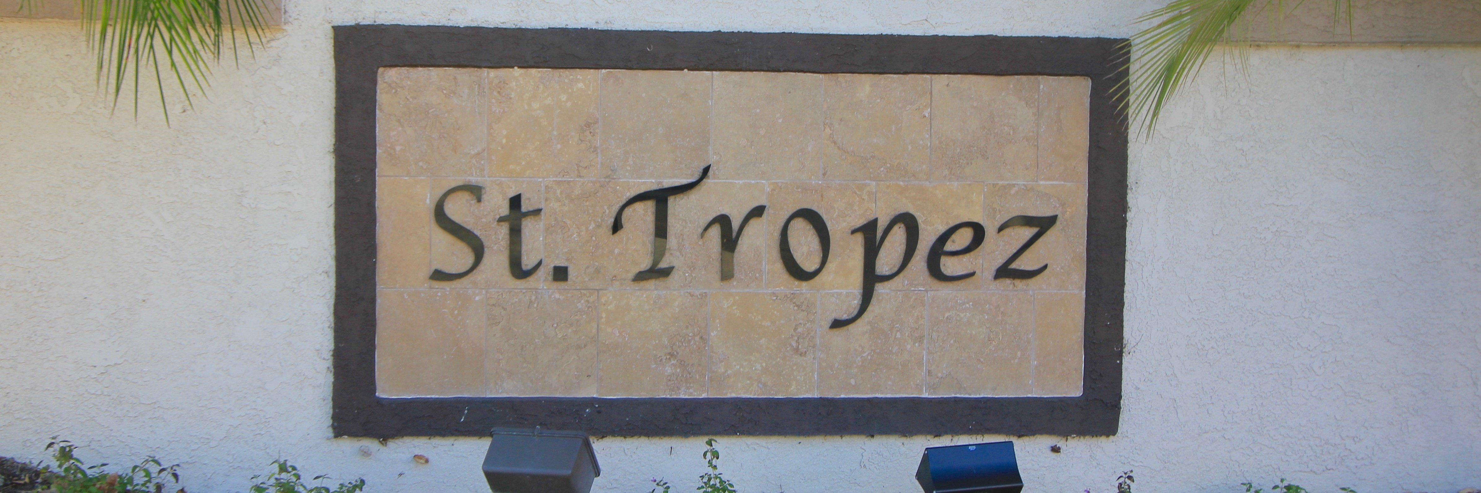 St Tropez Community Marquee in Aliso Viejo Ca
