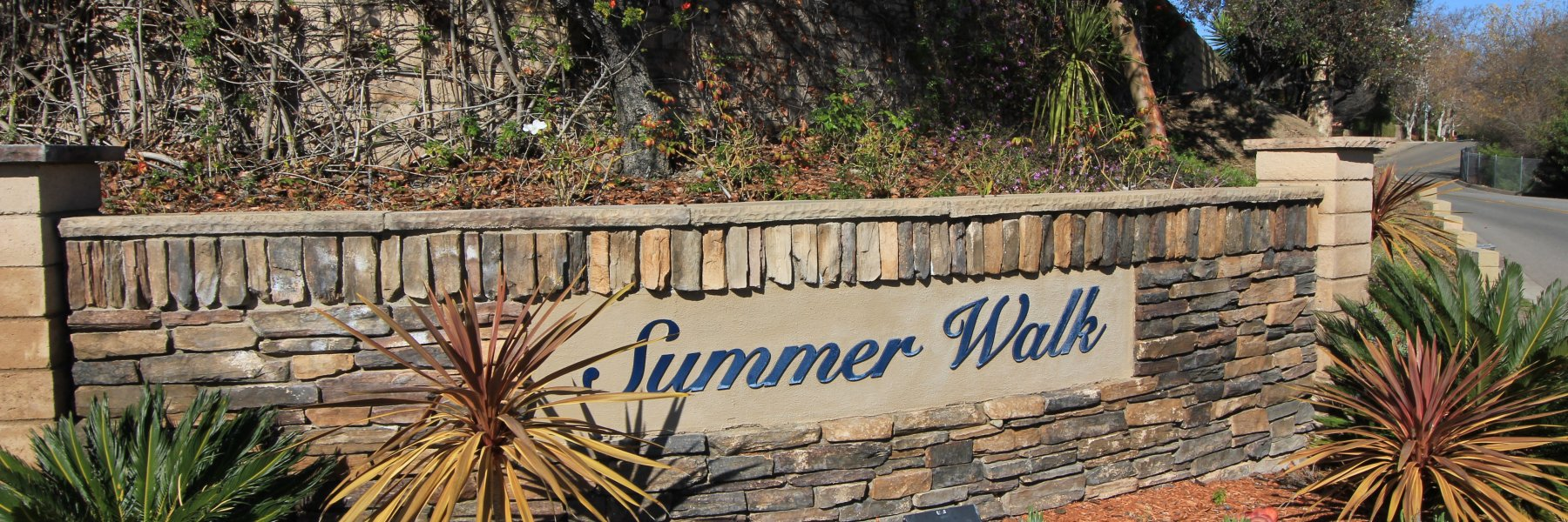 Summer Walk is a gated community in San Juan Capistrano