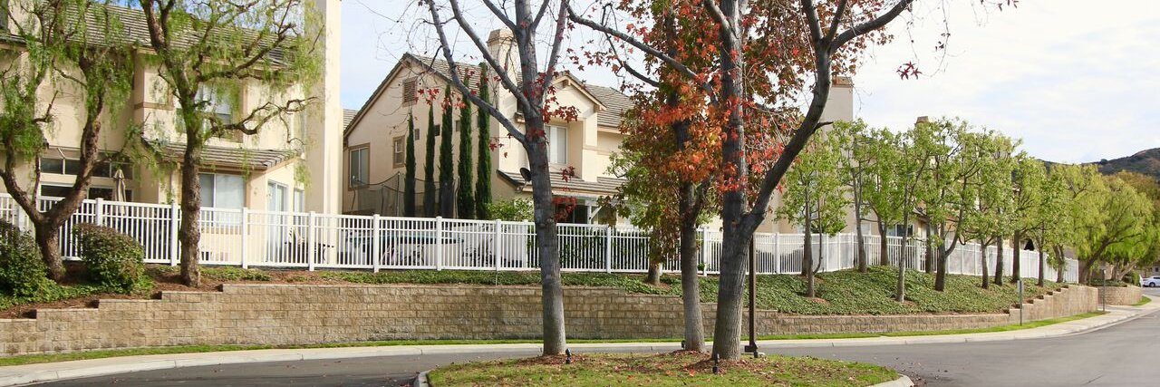 Summit Court is a community of homes located in Anaheim Hills CA
