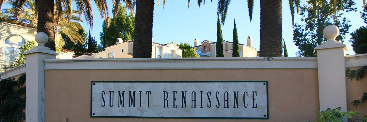 Summit Renaissance Is a community located in Summit Renaissance Anaheim Hills CA