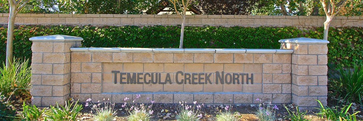 Temecula Creek Community Marquee in Temecula Ca
