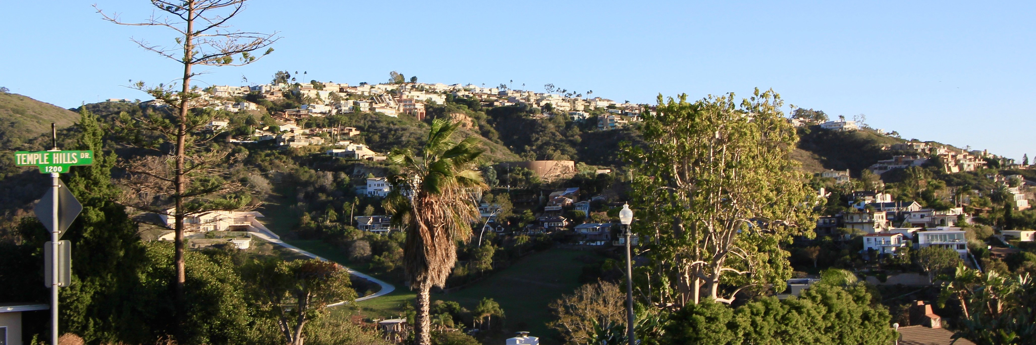 Temple Hills is a high end hillside beach community in Laguna Beach CA